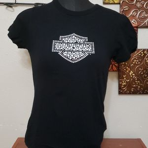 Small harley davidson top shirt